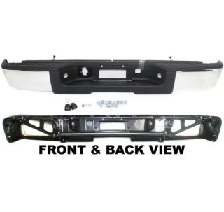 Rear Step Bumper New Chrome Chevrolet Silverado 1500 Truck 2011 2010