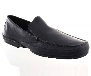 Rockport Mens Loafers K54721 Callahan II Black Leather