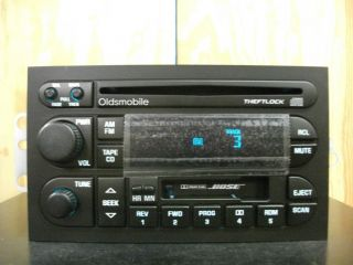 Factory Am FM CD Cassette Player Radio 95 01 10448399