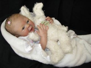 Reborn Vinyl Doll Kit Supply Baby Camryn Denise Pratt Lifelike