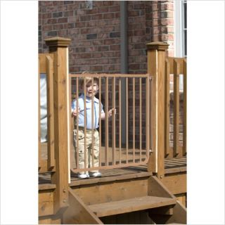 Cardinal Gates Stairway Special Outdoor Gate in Brown SS30 OD