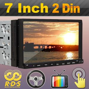 DIN 7 in Dash Car DVD CD Player SWC Radio Touch Screen