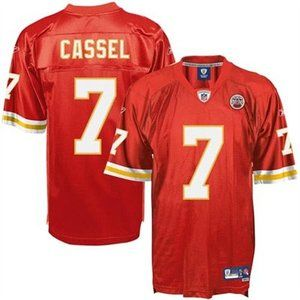 NFL Kansas City Chiefs MATT CASSEL # 7 Reebok Premier Football Jersey