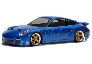 HPI Racing RC Car Porsche 911 Turbo (997) Body Shell 200mm 17527