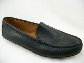 Allen Edmonds Castine Black Leather Driving Loafer 11 E