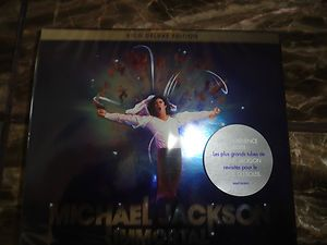 MICHAEL JACKSON IMMORTAL E U IMPORT 2CD DELUXE EDITION 27 SONGS