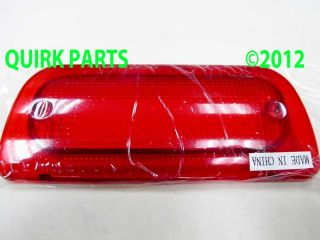 1994 2004 Chevy S10 GMC Sonoma Reg Crew Cab 3rd Brake Light Lens