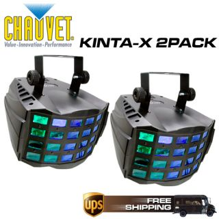 Chauvet Lighting Kinta x LED DJ Lighting Two Pack Kintax