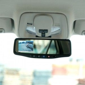 Chevy Equinox 2010 2012 Rear View Back Up Camera Mirror Monitor