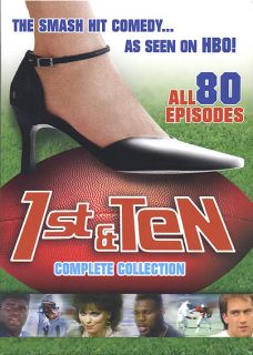 1st & Ten Complete Collection (6 DVD Set) New **Low S&H**