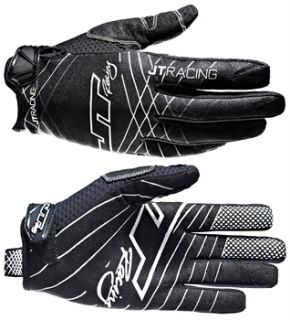 Race Gloves   Black/White 2013