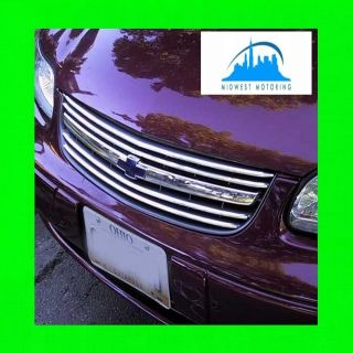 2000 2005 CHEVY CHEVROLET IMPALA CHROME TRIM FOR GRILL GRILLE W 5YR