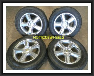 20 Chevy Silverado Suburban Tahoe Wheels with Tires 275 55 20 826B