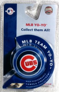 Chicago Cubs MLB Yomega Firestorm High Performanc Yo Yo Trick Book