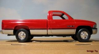 Dodge RAM 2500 Pickup Truck Dealer Promo Model   MIB   Flame Red
