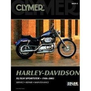 Clymer Repair Service Manual Harley Davidson XL XLH Sportster