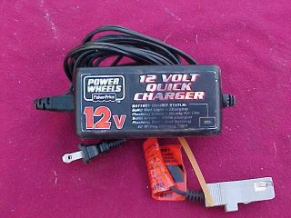 12 Volt Quick Charger Power Wheel Fisher Price 008011429