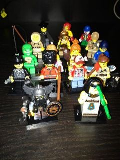 Lego Mini Figures Series 5 Complete Set 16 Mint