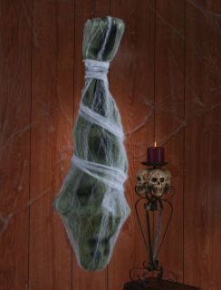 Halloween 3 ft Man Animated Cocoon Spider Prop