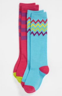 Mix & Match Knee Socks (2 Pack) (Girls)