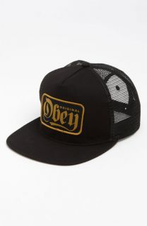 Obey Stout Snapback Trucker Hat