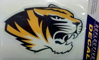 Reflective Mascot 5 Vinyl Decal Mizzou Car Truck Sticker
