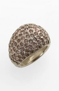 St. John Collection Antique Flash Gold & Crystal Ring