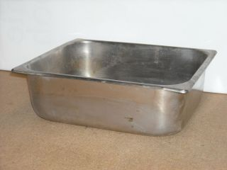 Used Vollrath 2024 2 Stainless Steel Commercial Steam Table Pan