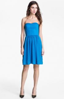Rebecca Taylor Cutout Fit & Flare Dress