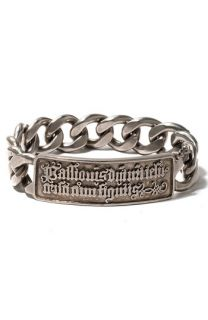 Juicy Couture Latin Chain Link ID Bracelet