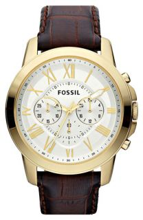 Fossil Grant Round Chronograph Watch