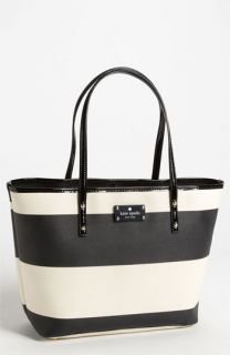 kate spade new york boutique stripe   small harmony tote