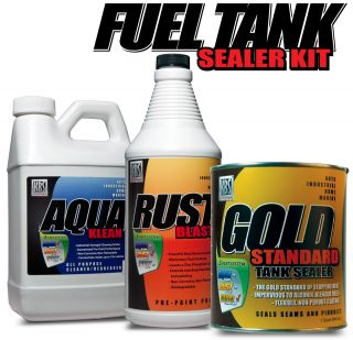 Auto Fuel Tank Sealer Kit KBS Coatings 25 Gallon Tank Gas Tank Sealer