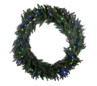 BethlehemLights Solutions Oversized 48 Wreath w/ 80 LEDs & Timer