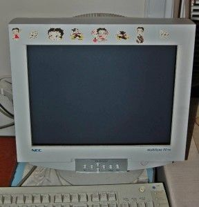 NEC MultiSync FE700 16 Flat Screen CRT Computer Monitor
