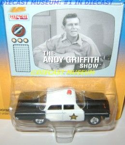 The Andy Griffith Show Police Cop Car Diecast JL RARE
