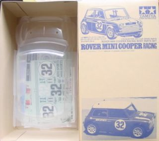 Tamiya Rover Mini Cooper Racing Body Kit