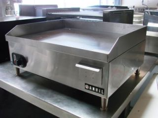 ANVIL AMERICA FTA8024 24 COMMERCIAL ELECTRIC GRIDDLE GRILL