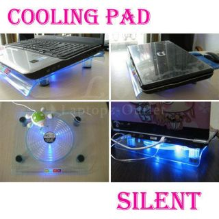 New USB 828 Big Fan Light Cooling Pad for Laptop Notebook 14 1 to 15