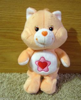 CARE BEAR COUSINS PLUSH BEAN 8 PROUD HEART CAT EC