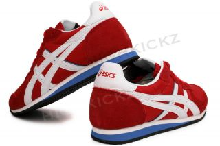 Asics Onitsuka Tiger Corrido Red White H071L 2301 Womens Running Shoes