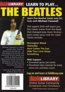 lick library learn to play the beatles volume 2 tutorial