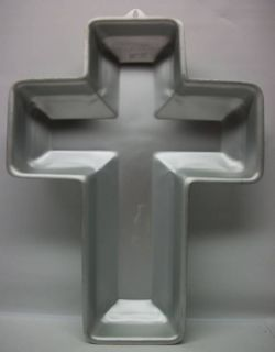 Wilton Cross Easter Religious Cake Pan Mold 1972