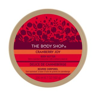Fresh Brand New Cranberry Joy Body Butter Cream Large 6 7oz The Body