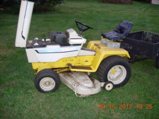 Cub Cadet 1250 Garden Tractor with 50 inch Deck and Other Attachments