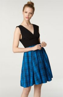 Tracy Reese Pleated Bodice Dress