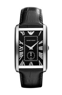 Emporio Armani Classic   Large Rectangular Dial Watch
