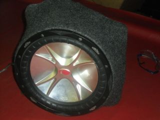 Kicker cvr 12 Subwoofer for 2001 Ford Mustang Convertible