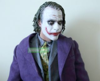 Enterbay 2008 Batman Dark Knight TDK Joker Heath Ledger 1 4 18 New