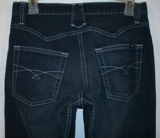Cruel Girl Distressed Slim Rodeo Western Cowgirl Jeans Sz 3 Long